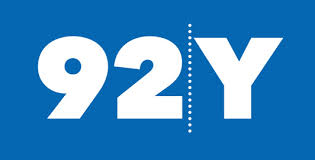 92nd Street Y Logo, thick white text in a blue box