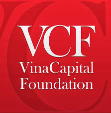 VinaCapital Foundation logo, white text in a red square